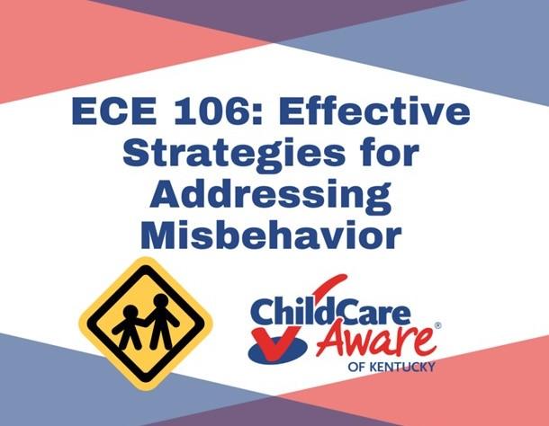 ECE 106: Effective Strategies for Addressing Misbehavior (FIT)💲 Free 💻Online Only